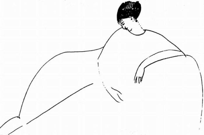 Amedeo Modigliani Anna Achmatova