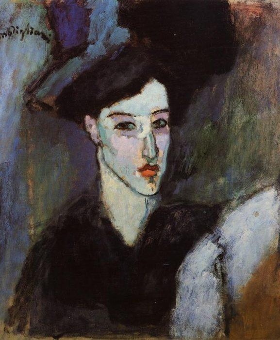 Anna Achmatova Amedeo Modigliani